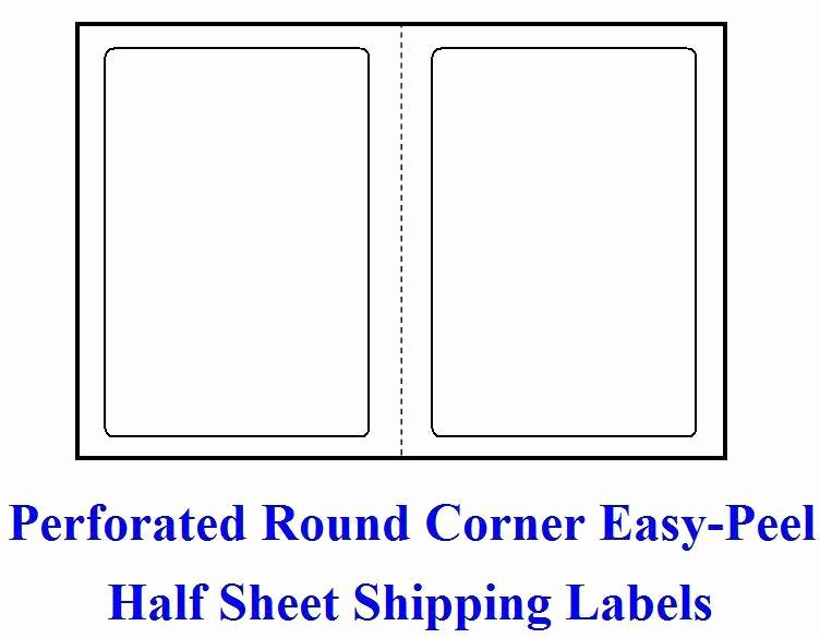 R 200 Shipping Labels Blank Labels 8 5 X 11 Self Adhesive
