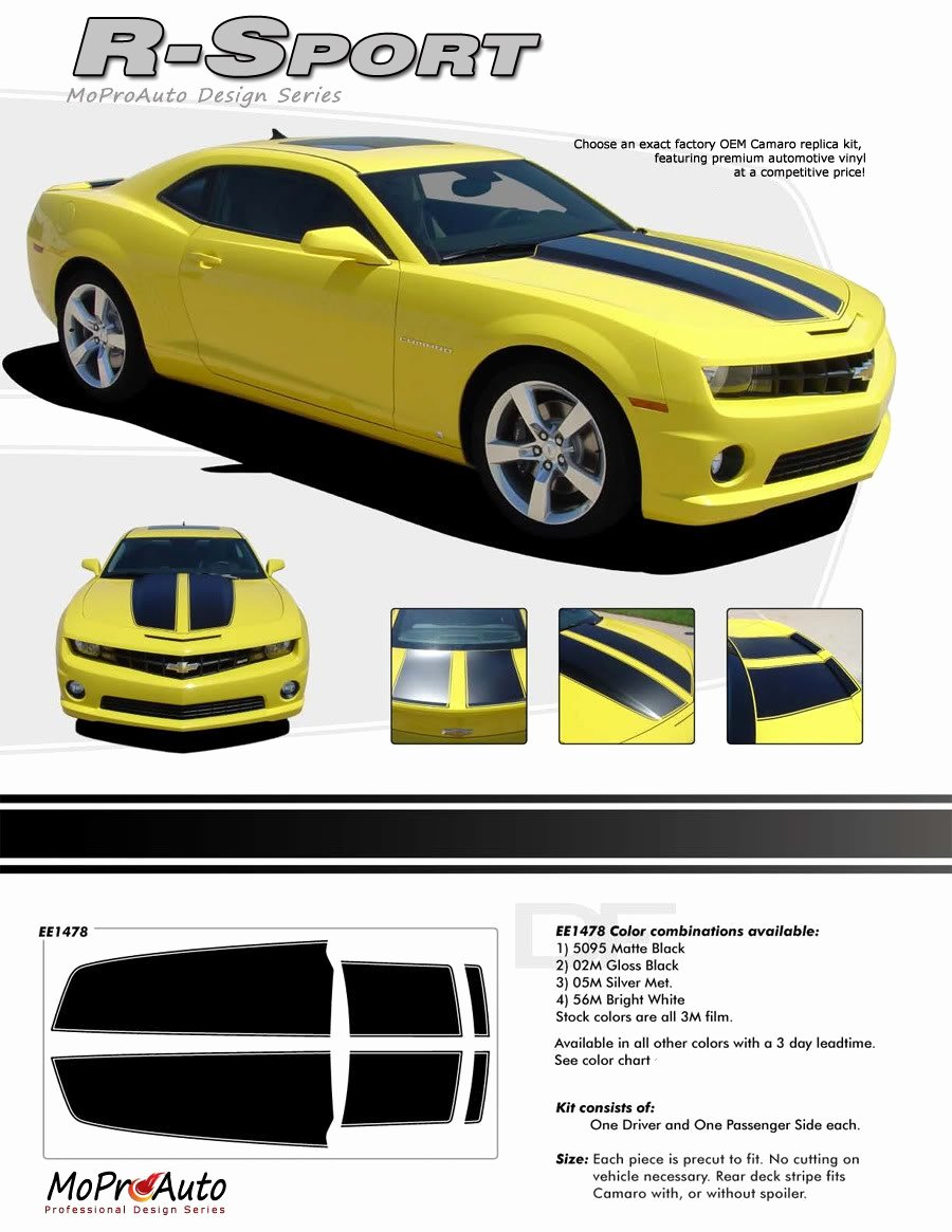 R Sport 2010 2011 2012 2013 2014 Chevy Camaro Factory