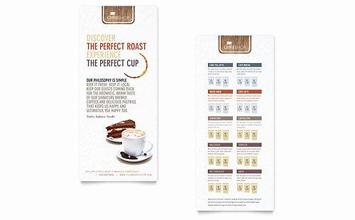 Rack Card Templates Indesign Illustrator Publisher Word