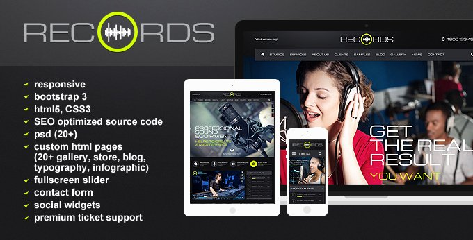Radio Station 5 Website Template Free tonytemplates Blog
