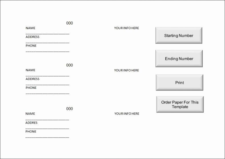 Raffle Ticket Templates Word Templates Docs