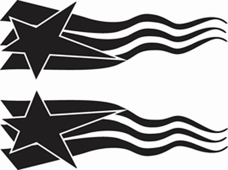 Rc Airbrush Stencil Paint Masks Flag Set 1 Single Use