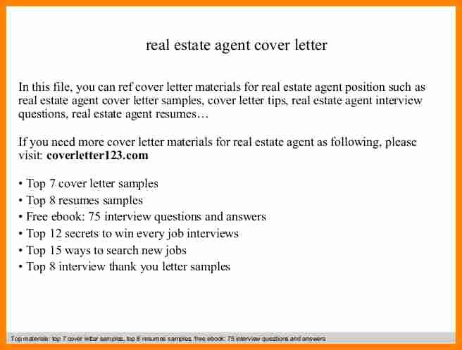 Real Estate Agent Introduction Letter Sample