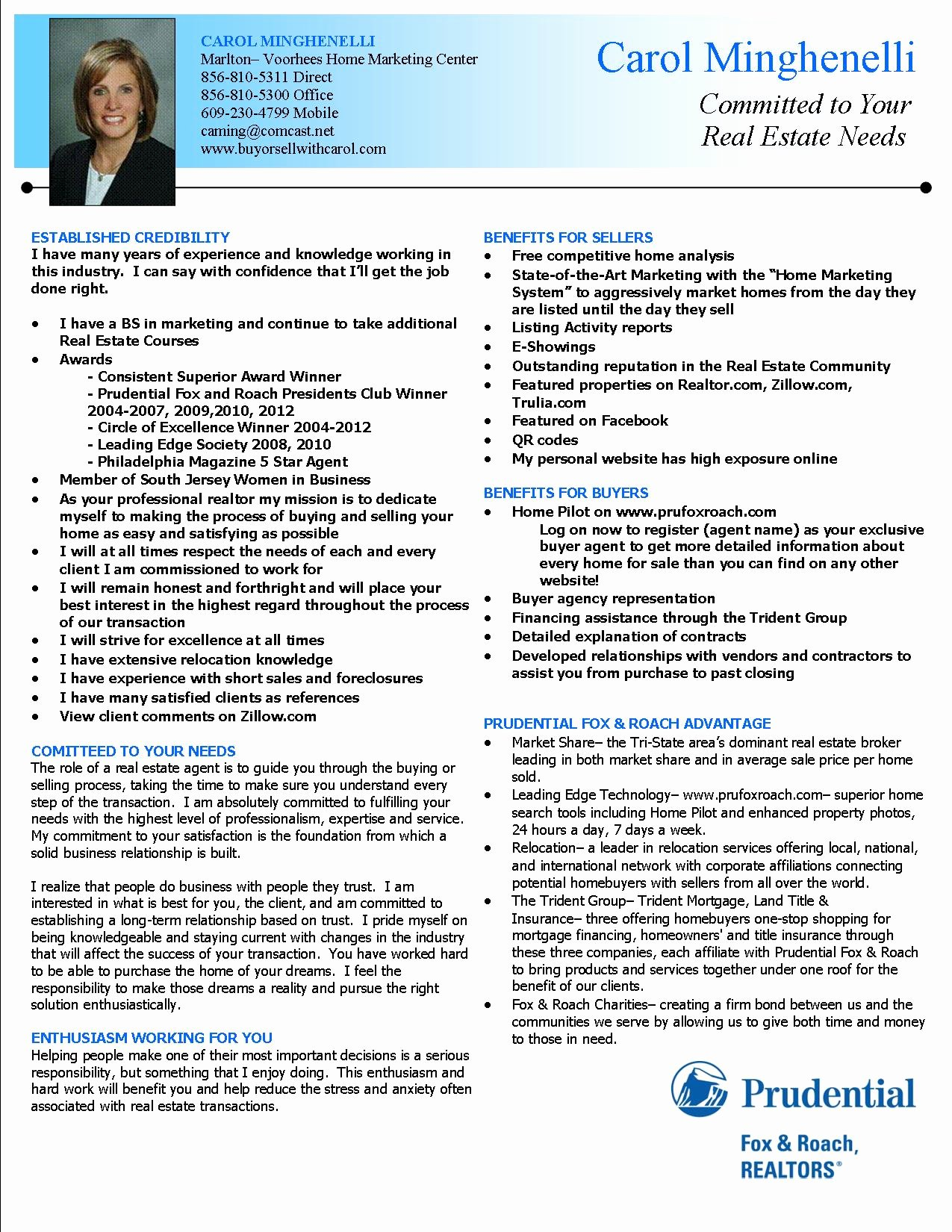 Real Estate Agent Resume Description Sidemcicek