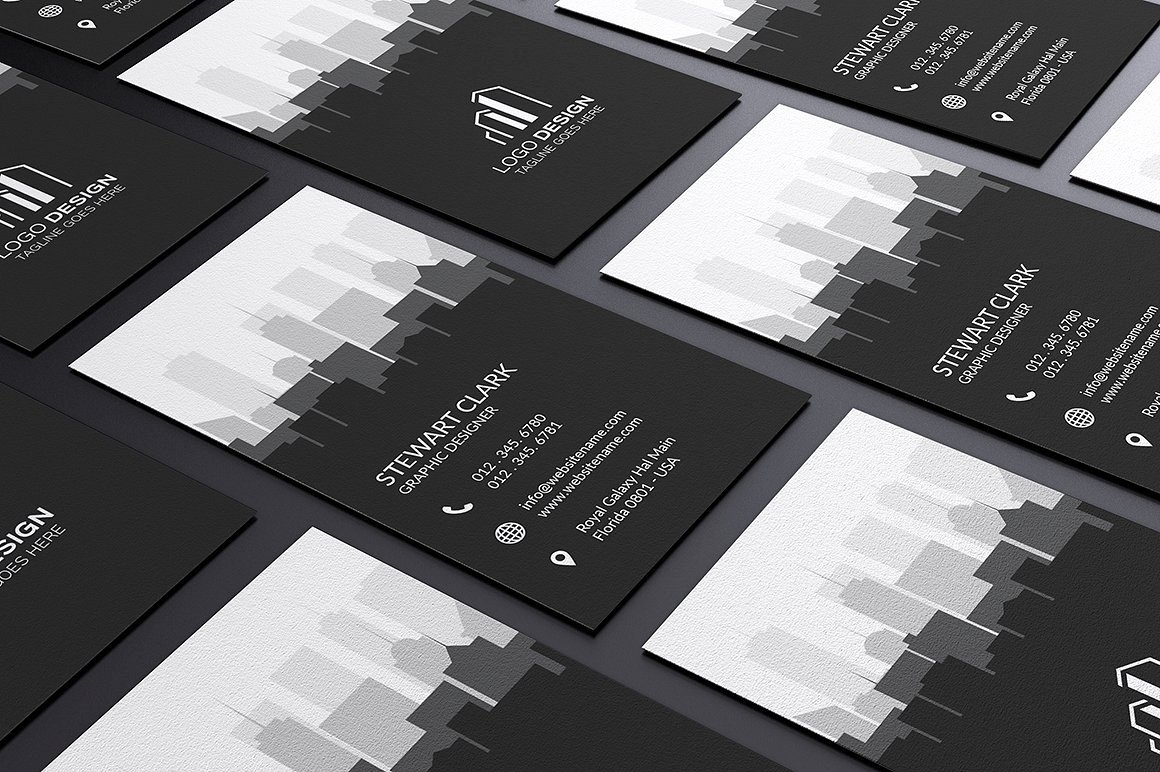 Real Estate Business Card Template Business Card