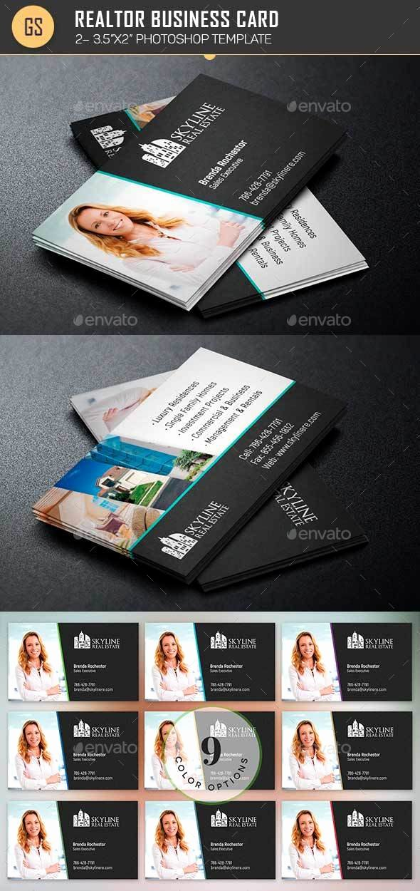 Real Estate Business Card Template by Godserv2
