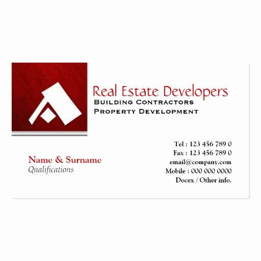 Real Estate Business Card Templates Page20