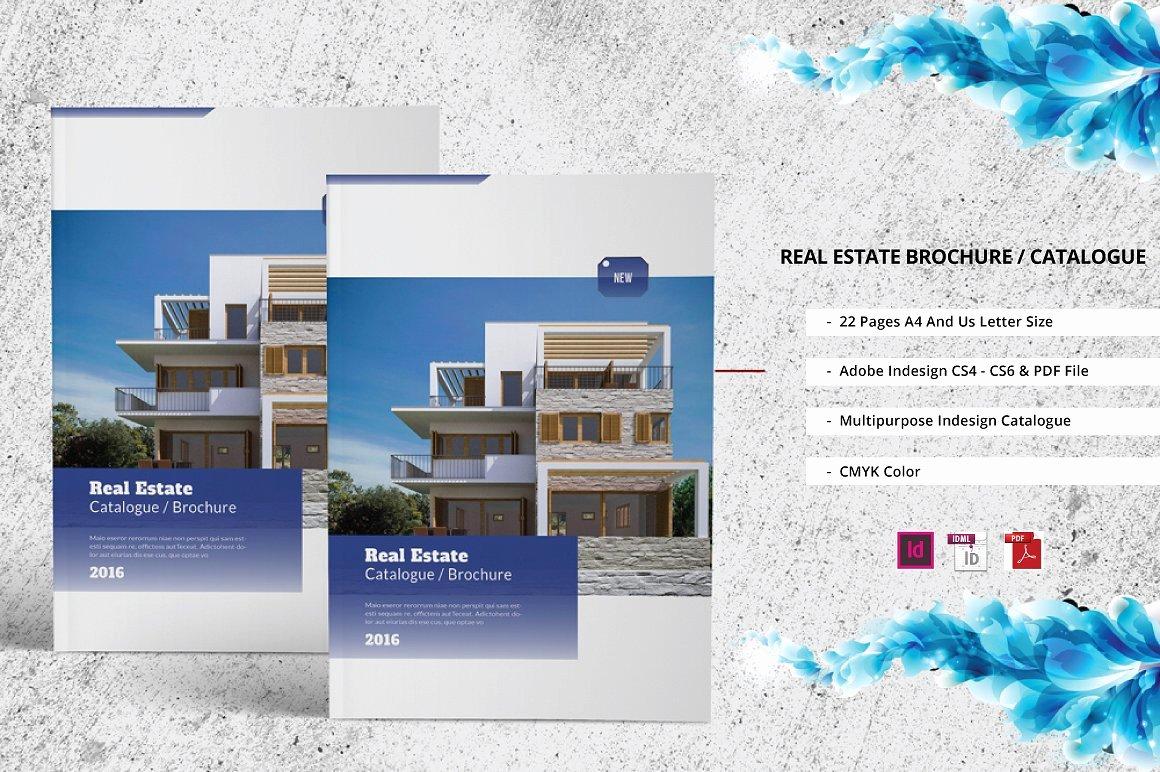 Real Estate Catalogue Brochure Brochure Templates On