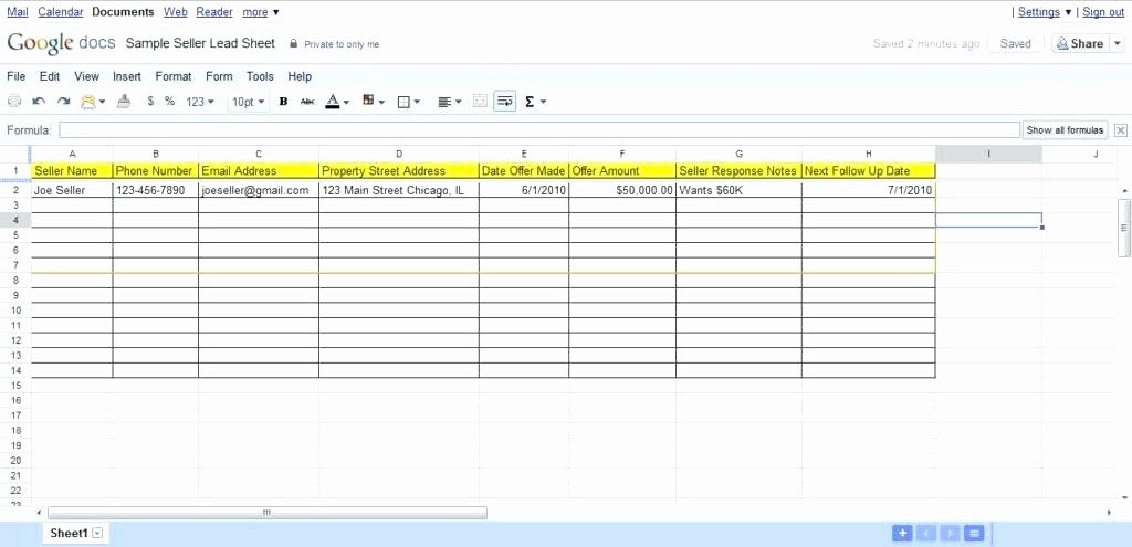 Real Estate Excel Spreadsheet – Gotrekkingub