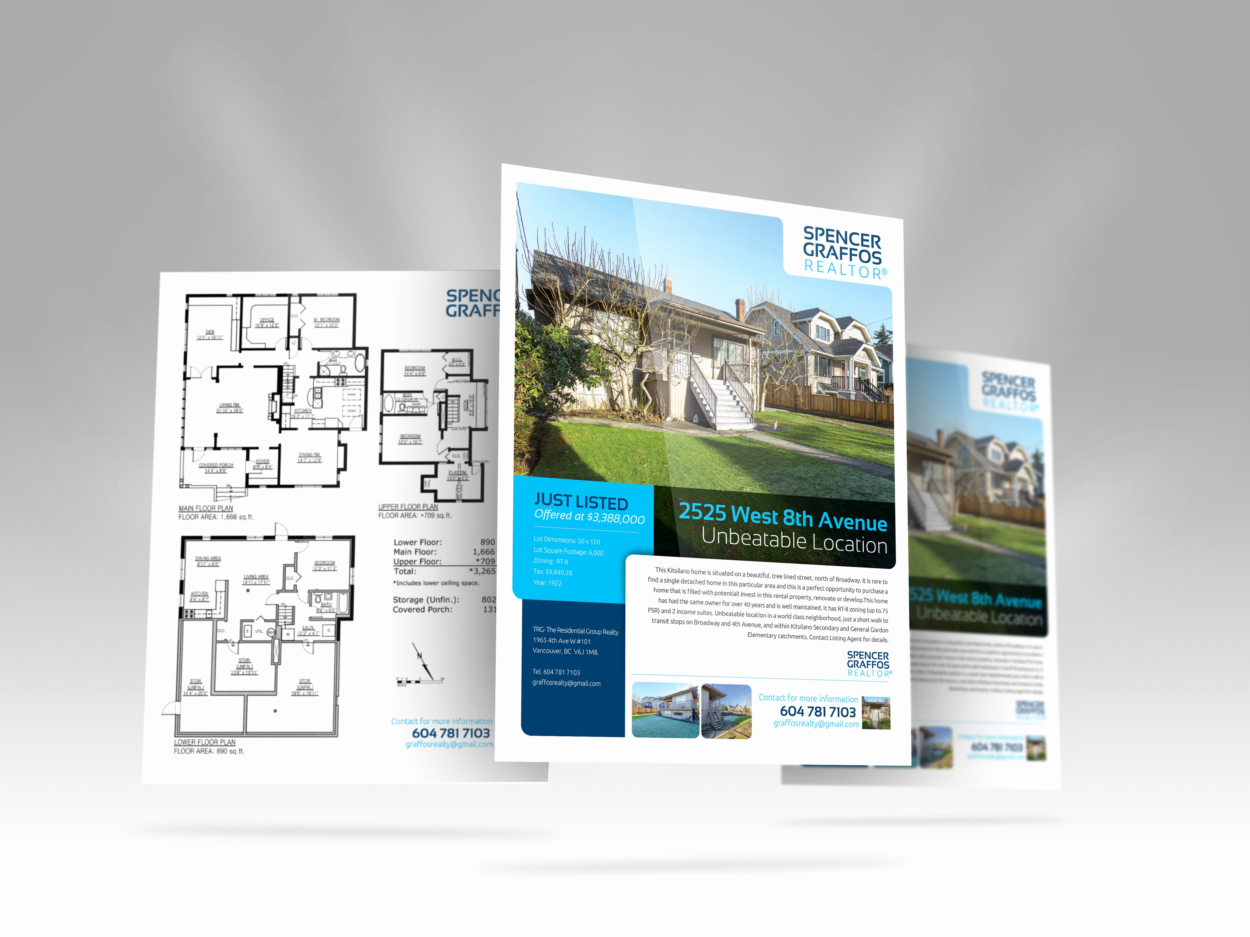 Real Estate Feature Sheet Templates