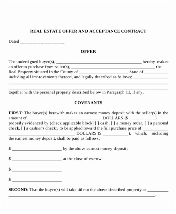 Real Estate Fer Letter Template