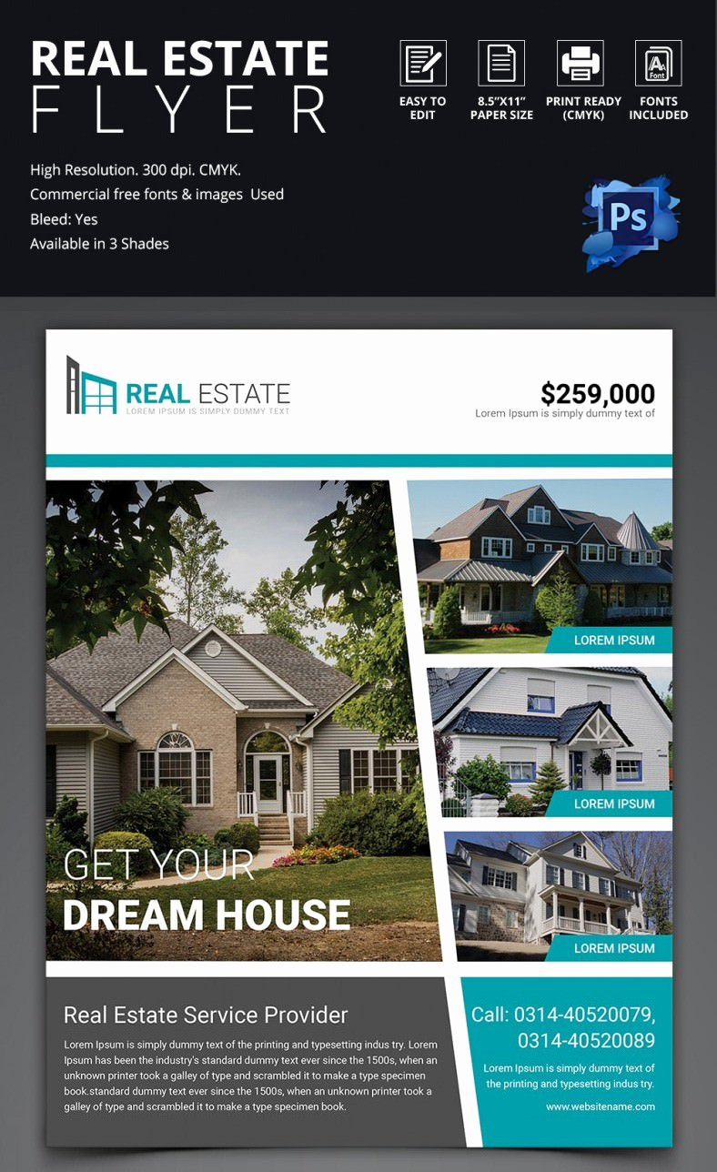 Real Estate Flyer Free Template Yourweek F9e64feca25e
