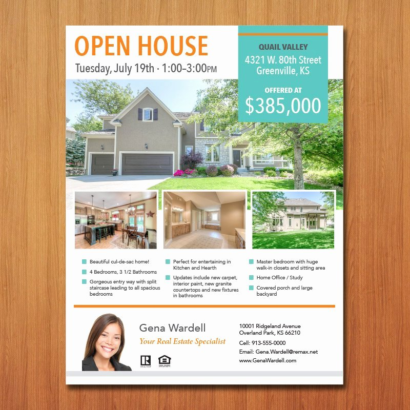 Real Estate Flyer Template Microsoft Publisher Word Apple