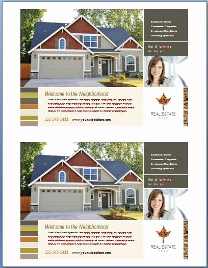 Real Estate Flyer Template Word Yourweek 6ce34feca25e