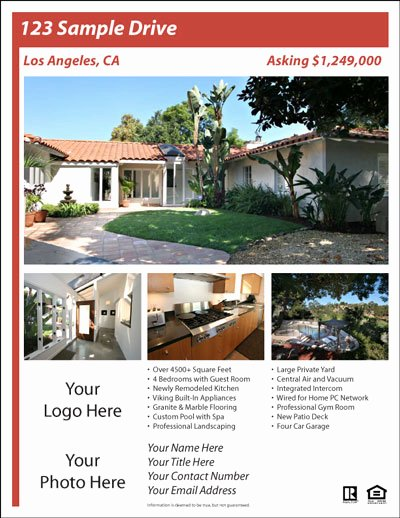 Real Estate Flyer Templates the Best Free & Paid List