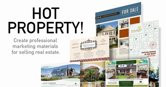 Real Estate Flyers & Postcards to Sell Your Property