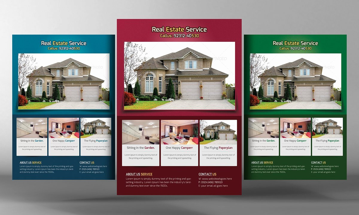Real Estate Flyers Template Flyer Templates Creative