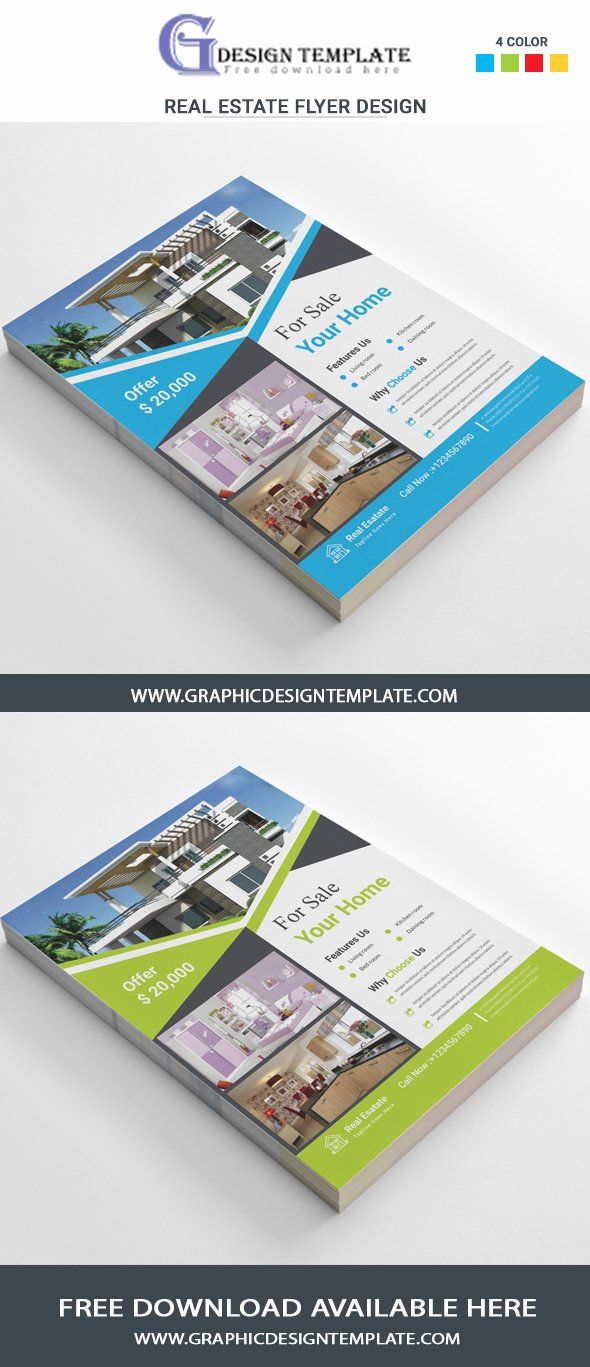 Real Estate Flyers Templates Free Downloads