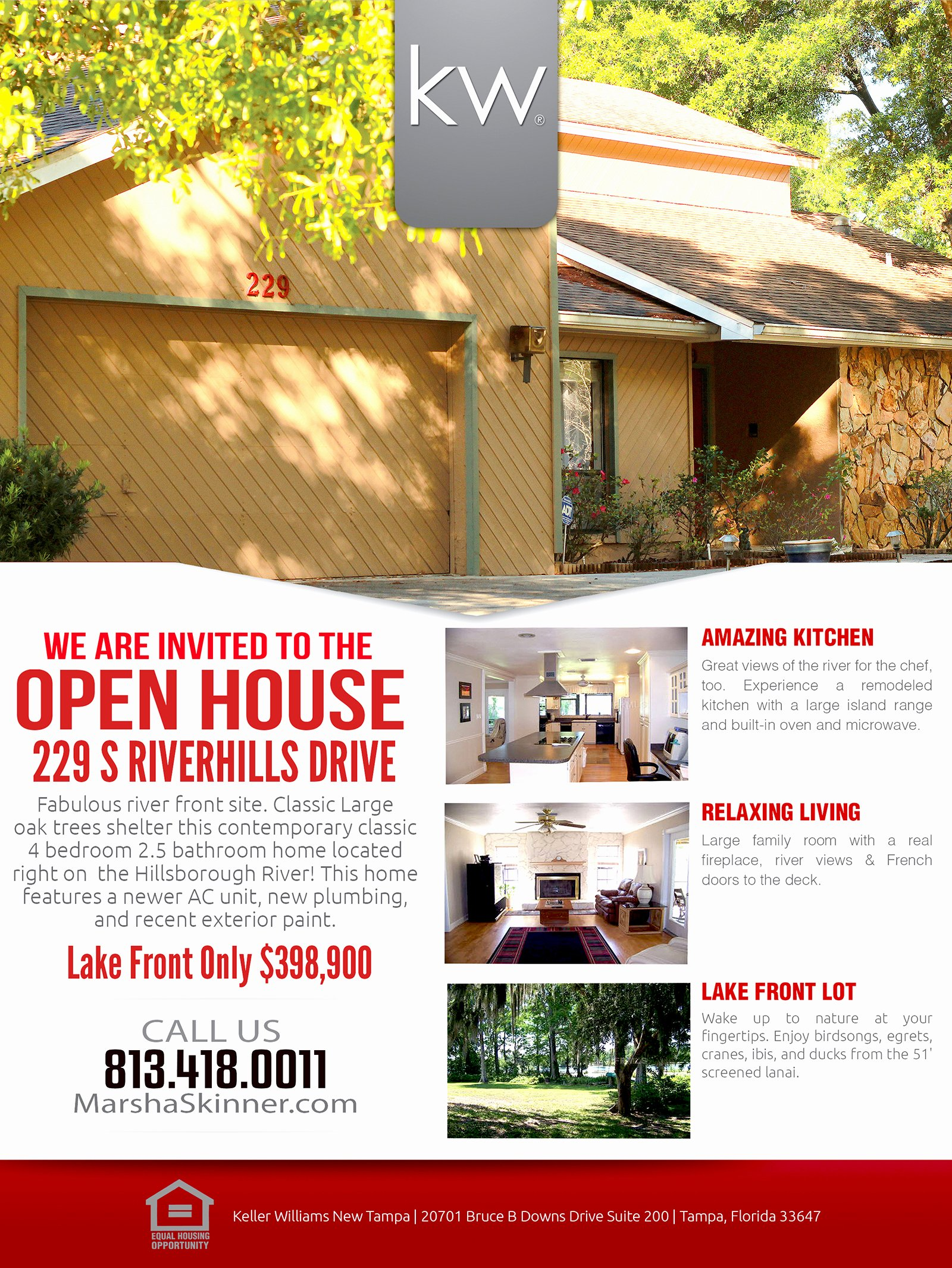 Real Estate Open House Flyer Portablegasgrillweber