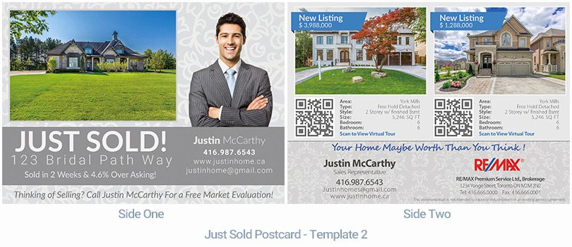 Real Estate Postcard Houssmax