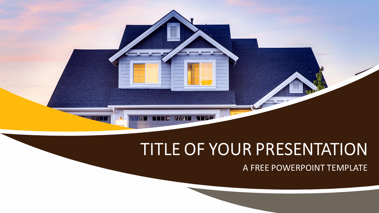 Real Estate Powerpoint Template Presentationgo