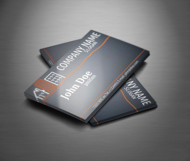 Real Estate Professional Business Card Template Vector
