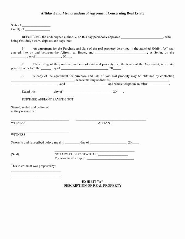 Real Estate Purchase Agreement form Free Sample forms