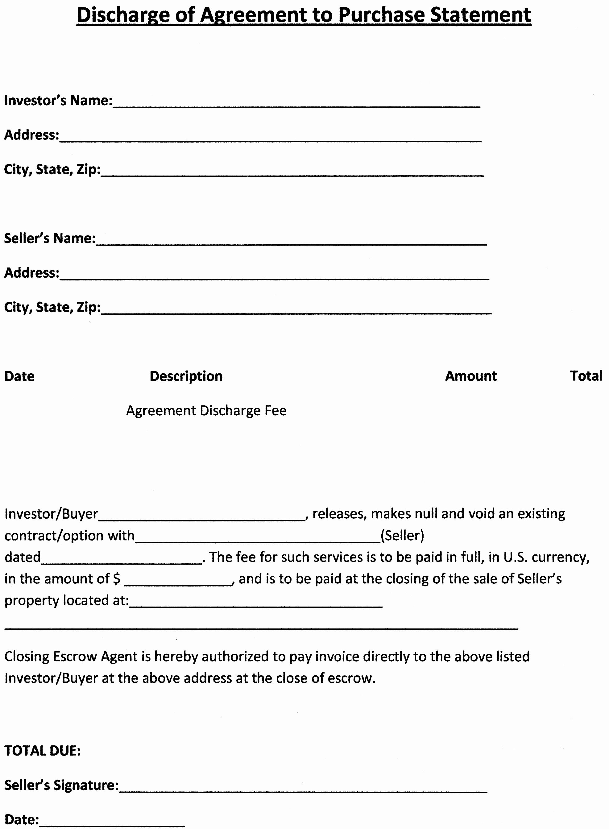 Real Estate Purchase Agreement Template Free Printable