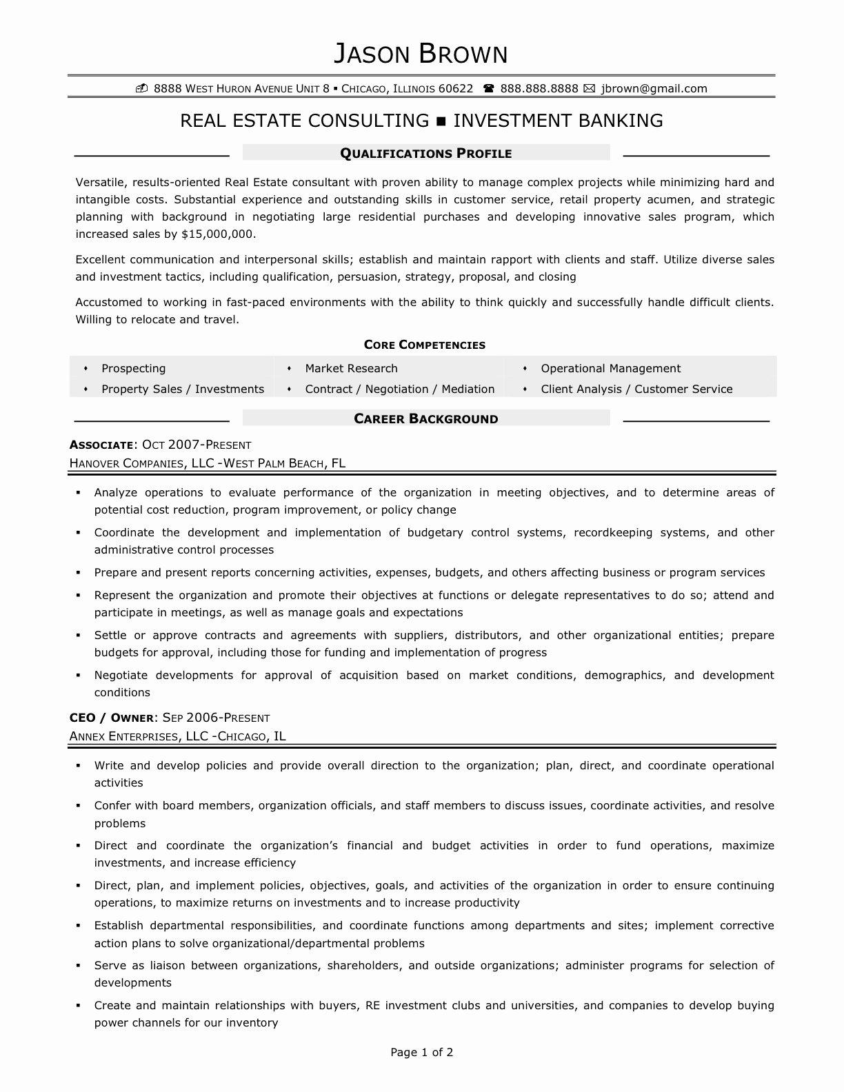 Real Estate Resume Samples Real Estate Agent Resume