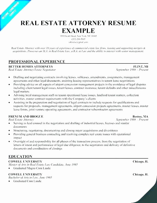 Real Estate Resumes Real Estate Appraiser Resume Examples