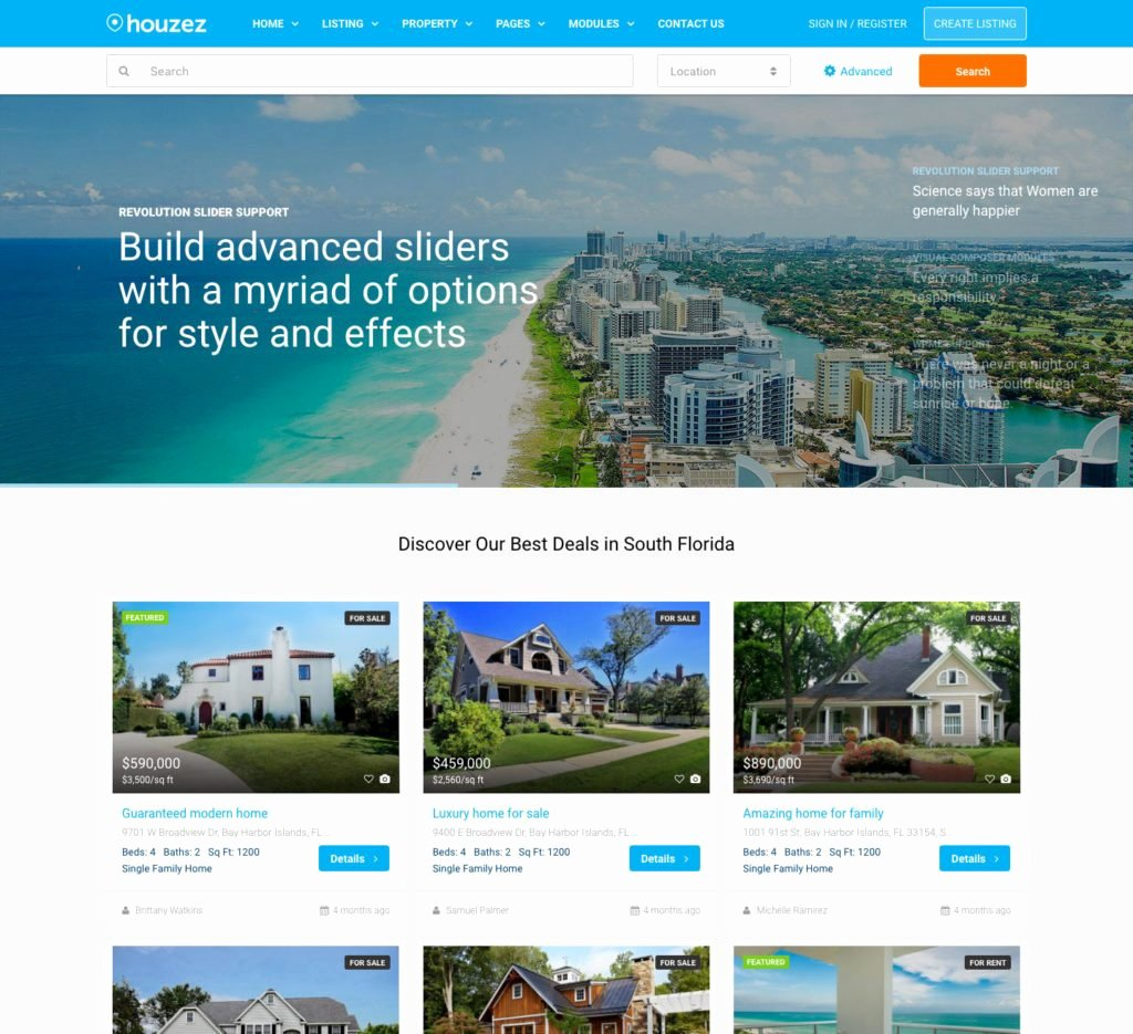 Real Estate Website Templates 25 Examples & How to Choose