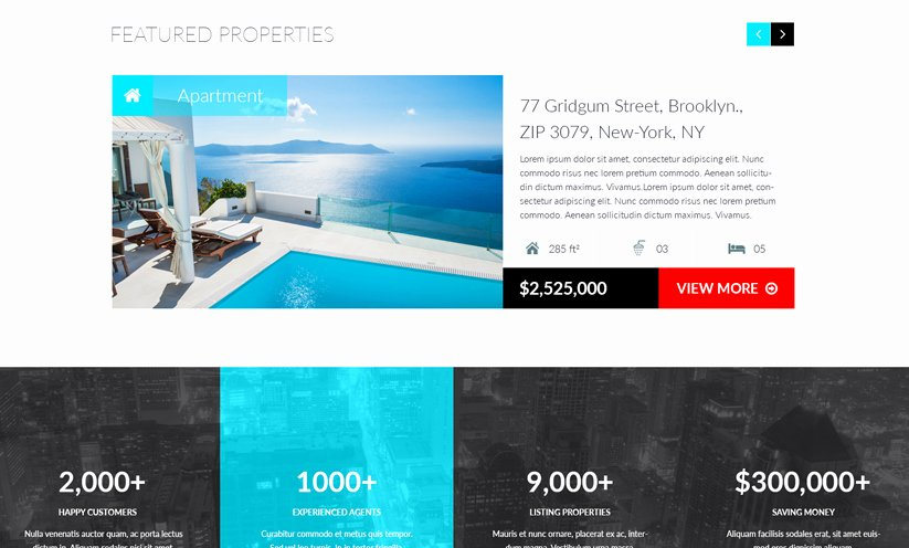 Realestate Bootstrap Template Id From