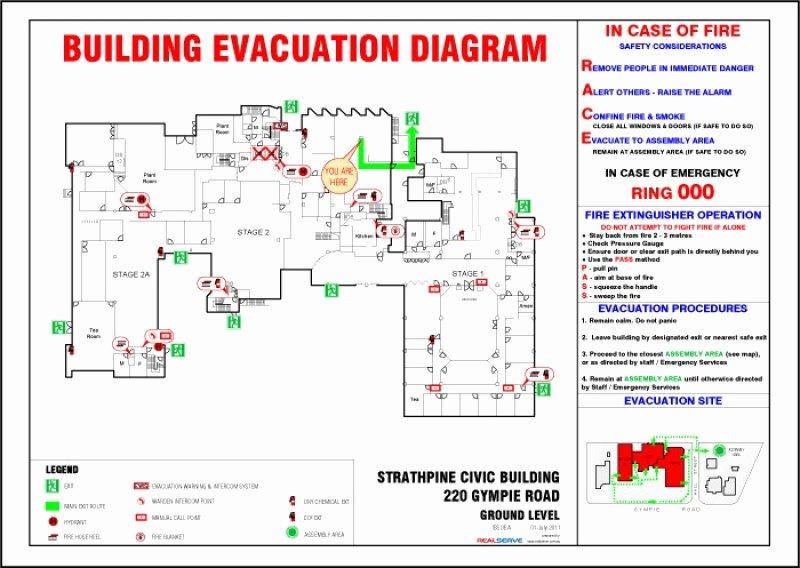 Realserve Evacuation Diagrams Realserve