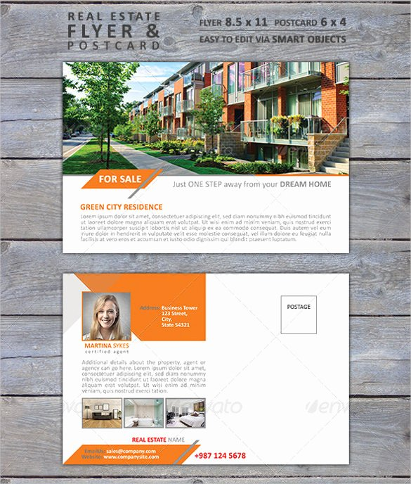 Realtor Postcard Template – 18 Free Psd Vector Eps Ai
