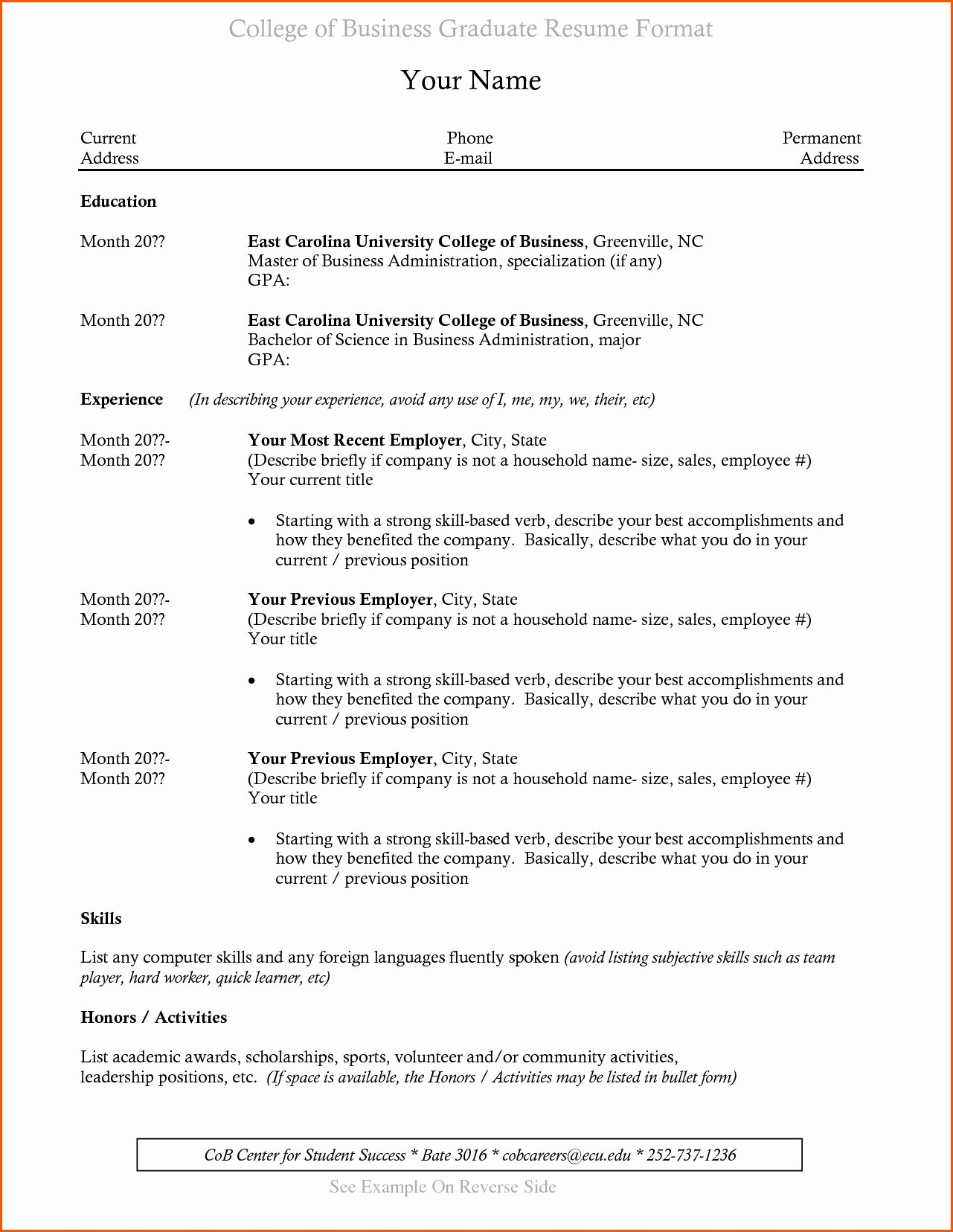 recent college grad resume examples recent college graduate resume 8 10 sample cover letter