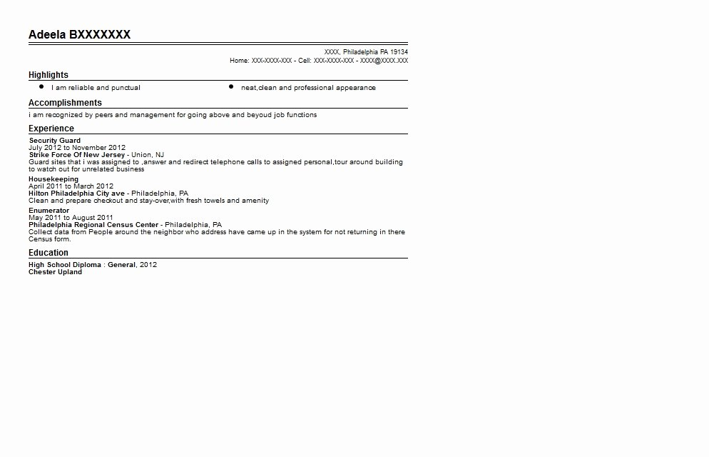 Recent High School Graduate Resume Best Resume Collection