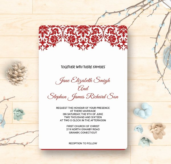 Reception Invitation Template – orderecigsjuicefo