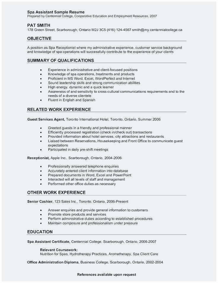 Receptionist Job Description Resume Sample Best Front Desk