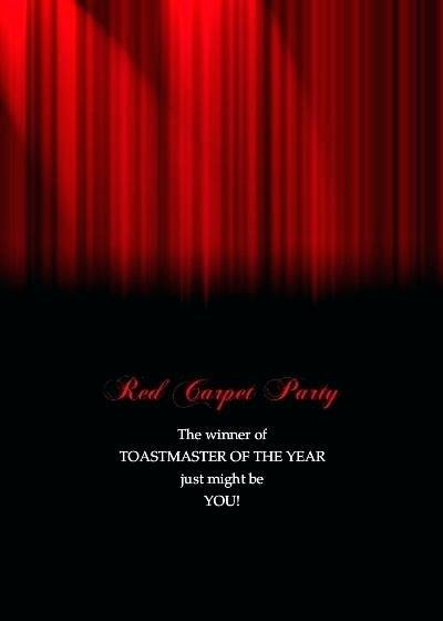 Red Carpet Affair Invitations – Ralphlaurens Outlet