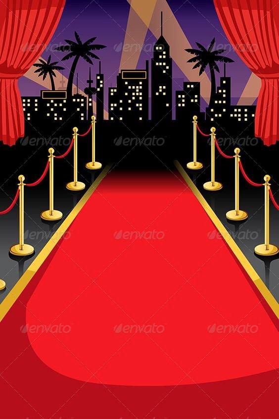 Red Carpet Invitation Template Free Google Search