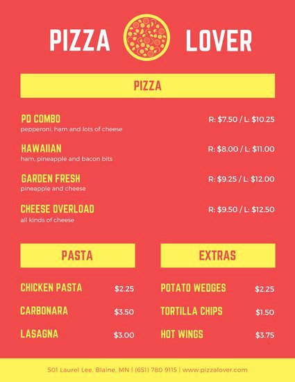 Red Chinese themed Take Out Menu Templates by Canva