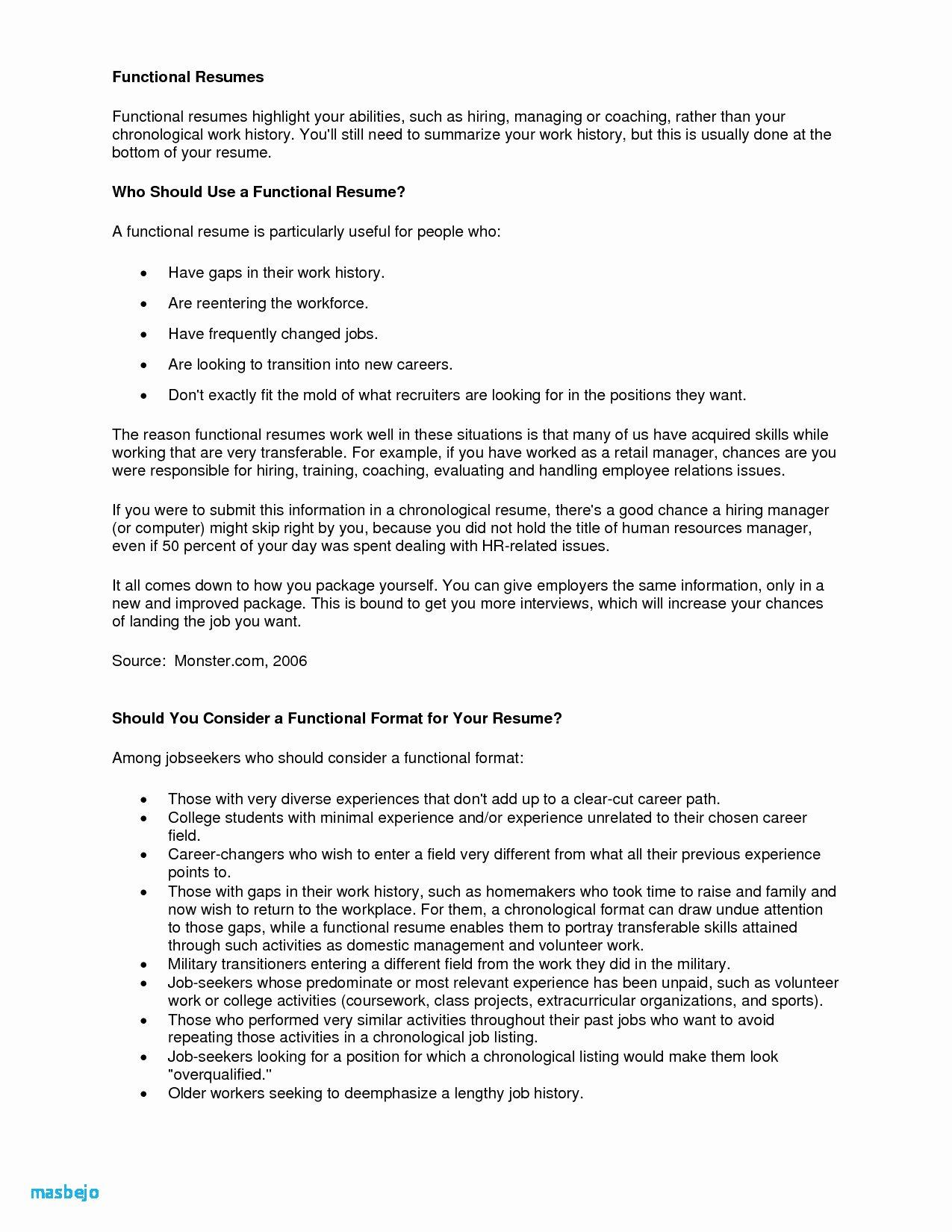 Reentering the Workforce Resume Examples Resume