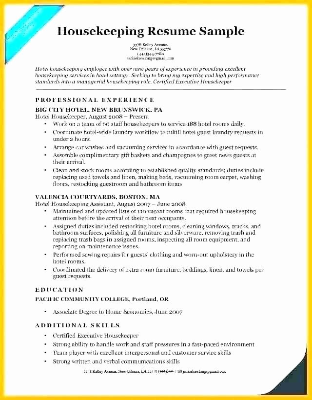 Reentering the Workforce Resume Examples Unique Sample