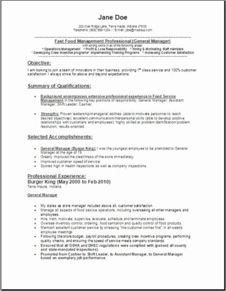 Reference Letter for Food and Beverage Manager top 8