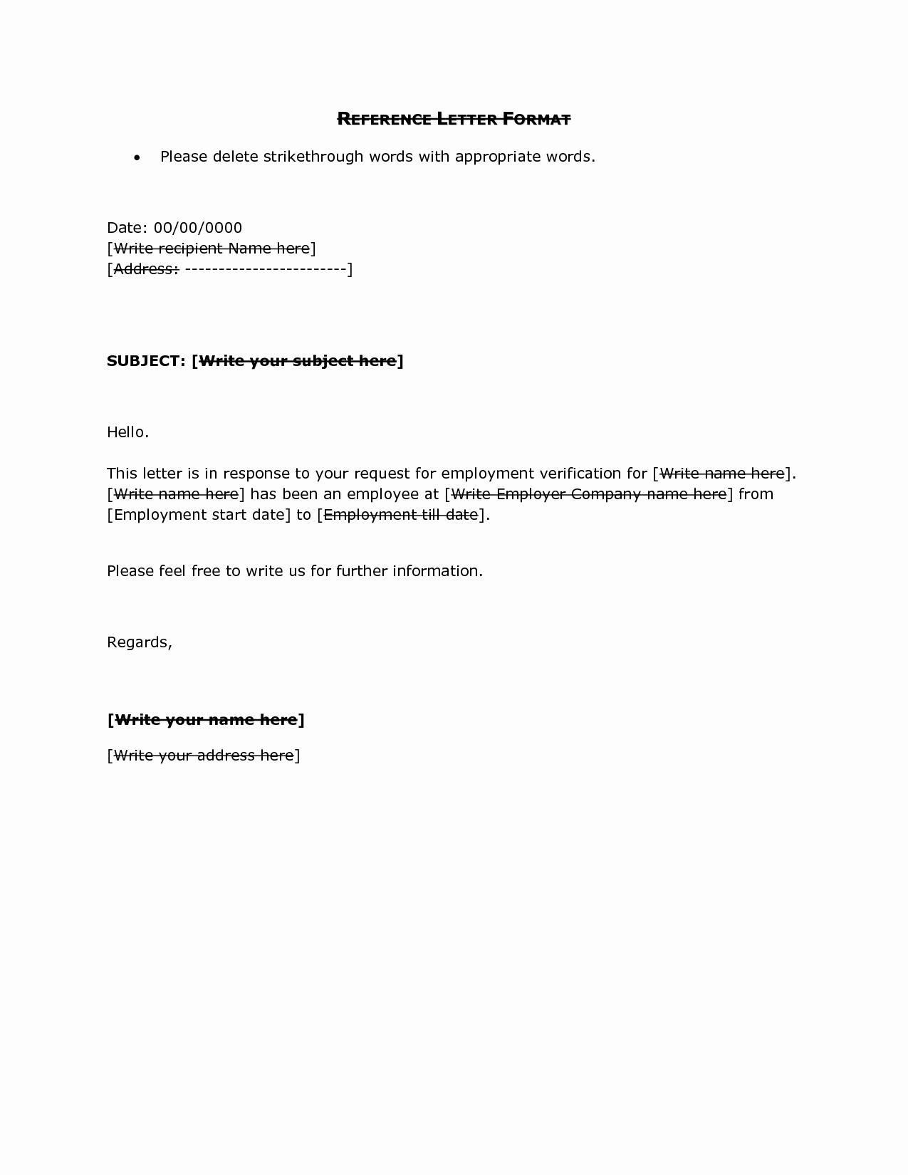 Reference Letter Sample Employment Portablegasgrillweber