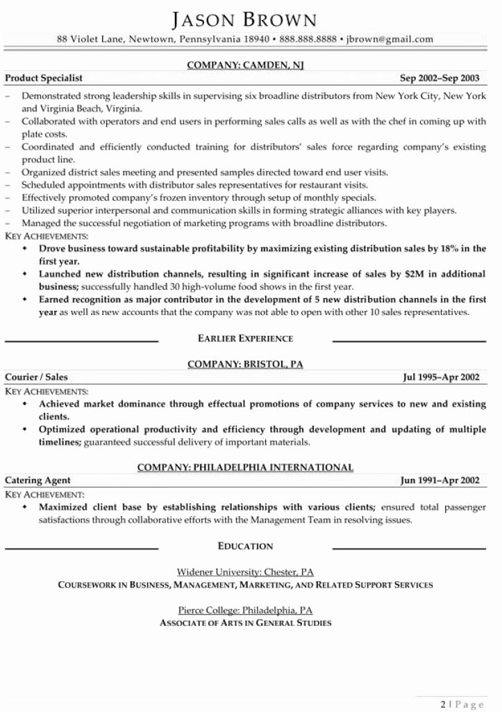 Regional Manager Resume Project Management Job Description