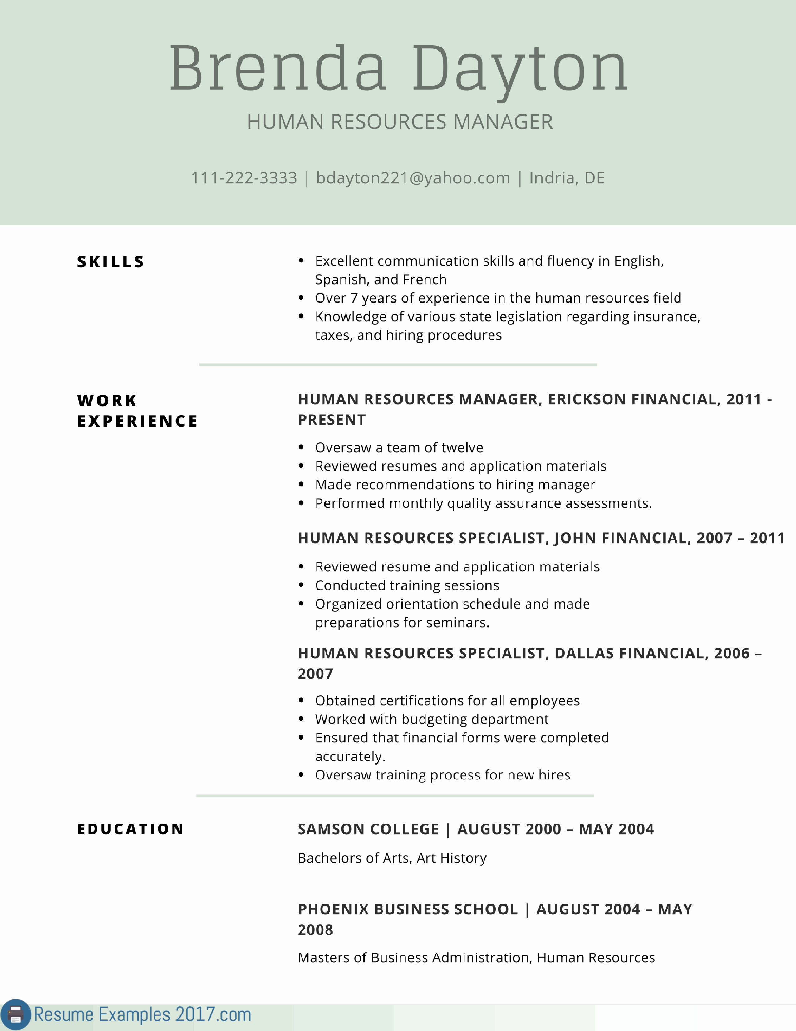 Remarkable Resume Examples Skills