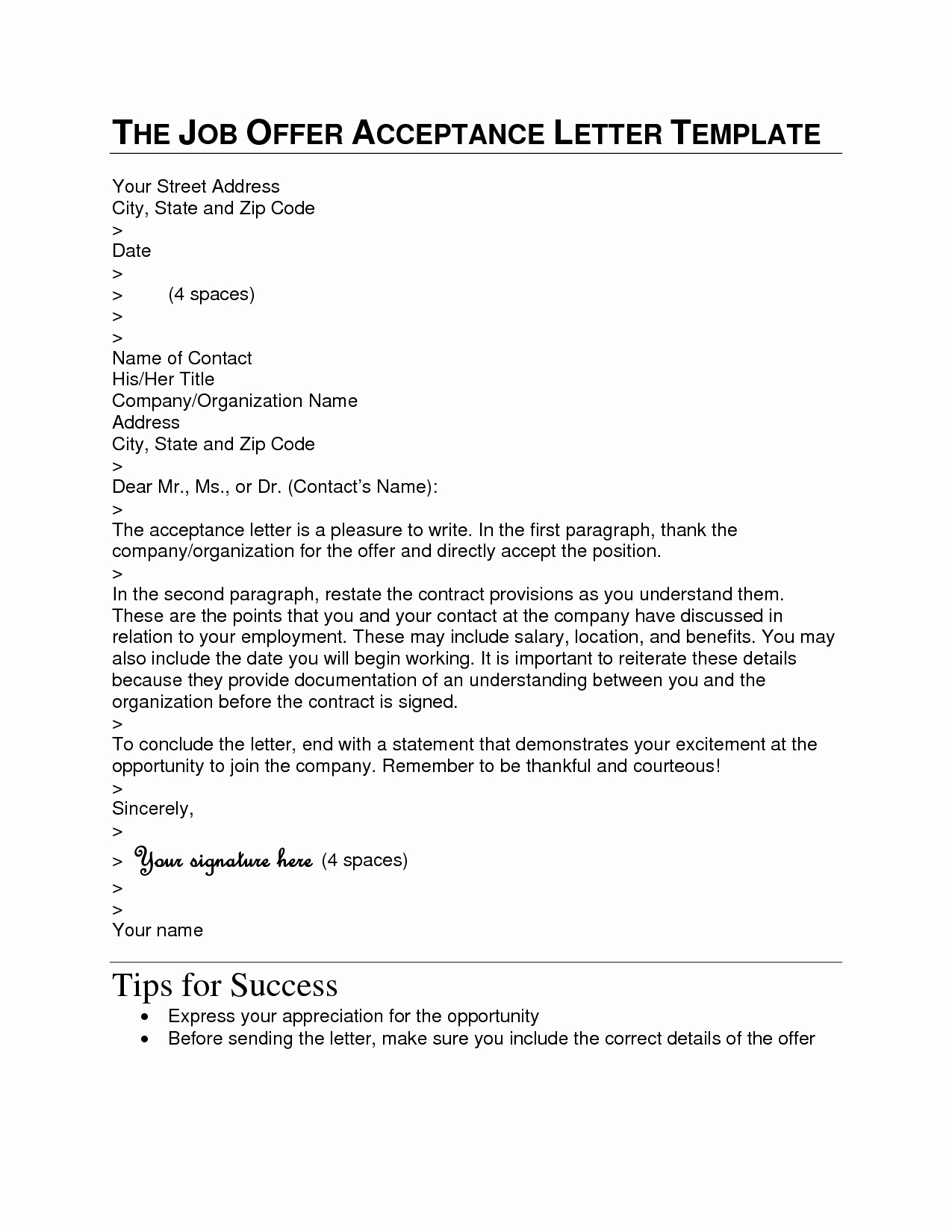 Reply Letter format Best Template Collection