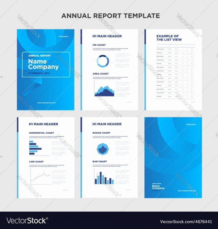 Report Annual Report Template