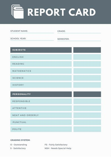 Report Templates Canva